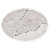 Seltmann Weiden Good Mood Marmaros Teller flach oval 36 cm M5398-36x26