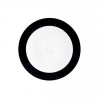 Seltmann Weiden Meran Springcolors Teller flach 5196 15,5 cm, schwarz