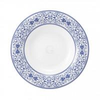 Savoy Grand Blue Teller tief 23 cm Fahne
