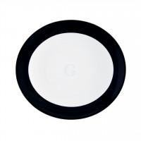 Seltmann Weiden Meran Springcolors Teller oval 5195 25 cm, schwarz