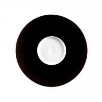 Seltmann Weiden Meran Springcolors Untere zur Espressotasse 5241 12,7 cm, schwarz
