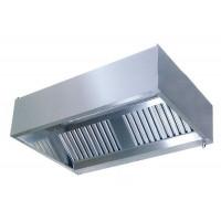 Gastro-Steel Edelstahl Dunstabzugshaube-Kastenhaube Serie Variabel