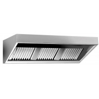 Gastro-Steel Edelstahl Dunstabzugshaube-Wandhaube Serie Eco