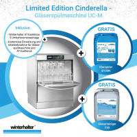 Winterhalter Gläserspülmaschine UC-M Limited Edition Cinderella