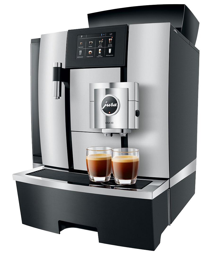 JURA Kaffeevollautomaten für Gastronomie und Büro