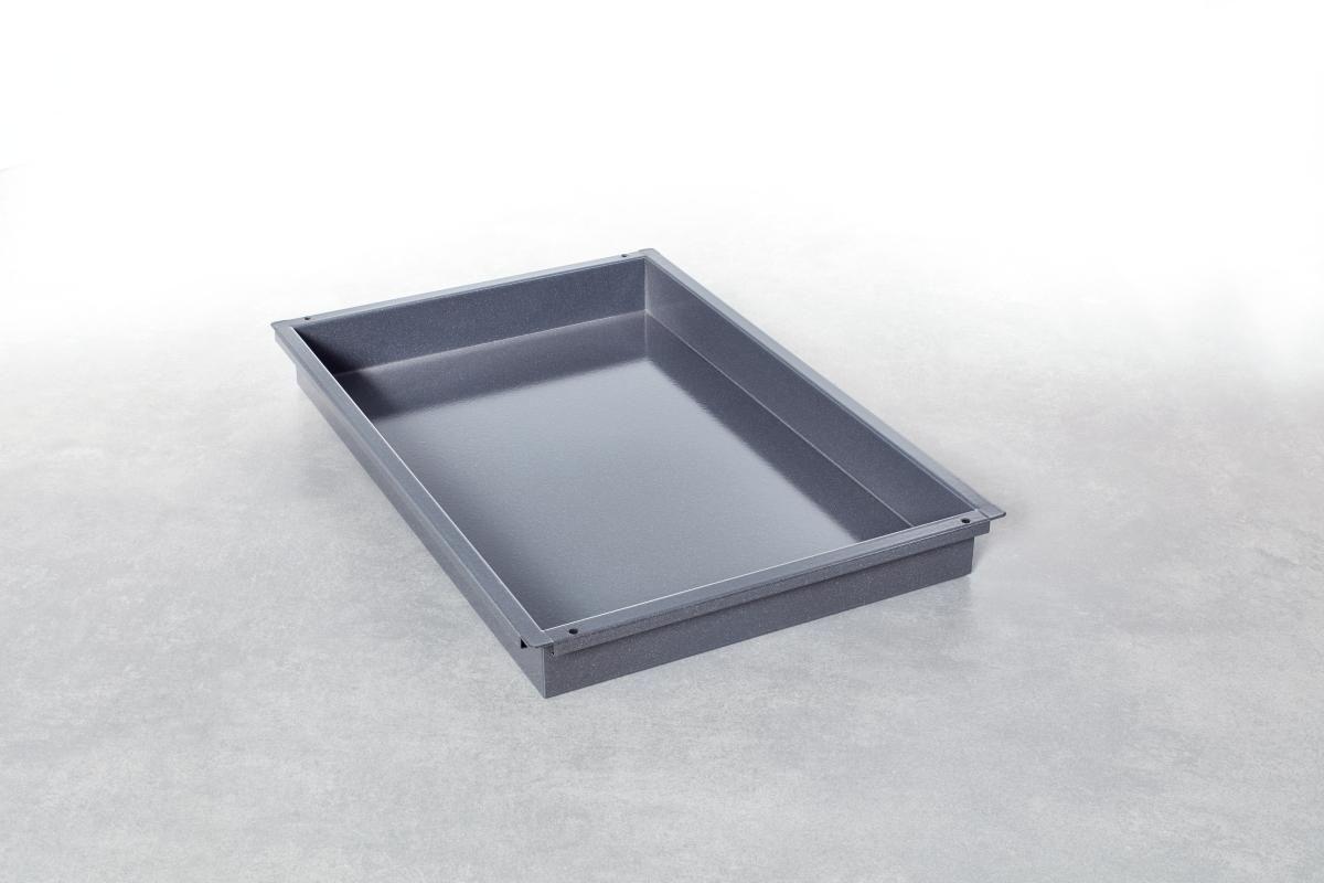 Rational Granitemaillierter Behälter Bäckernorm (400x600) 60 mm