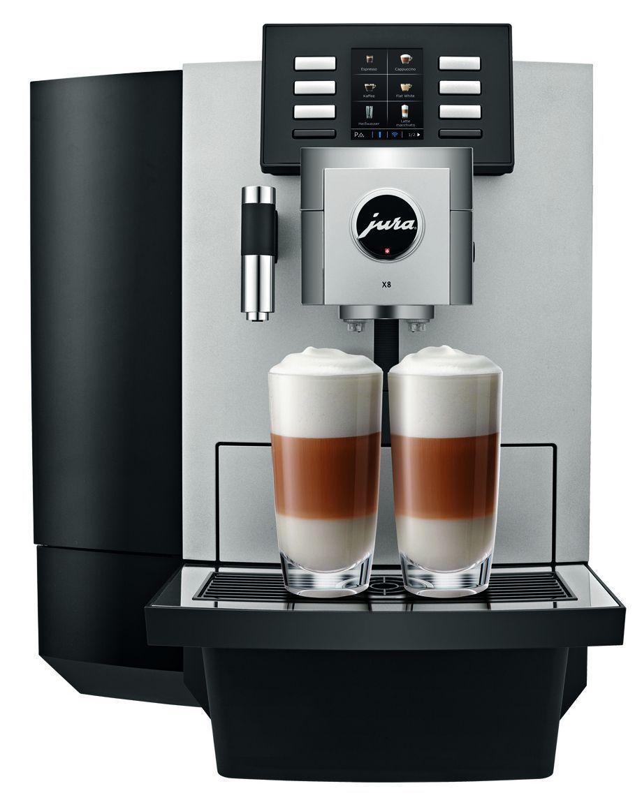 Jura X8 Platin Kaffeevollautomat