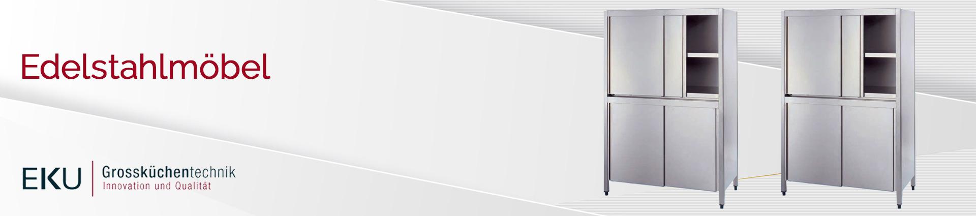 EKU Edelstahlmöbel Banner