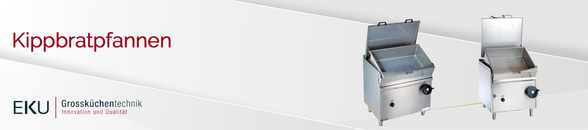 EKU Kippbratpfannen Banner
