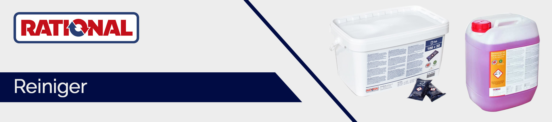 Rational Konvektomaten und Kombidämpfer Banner