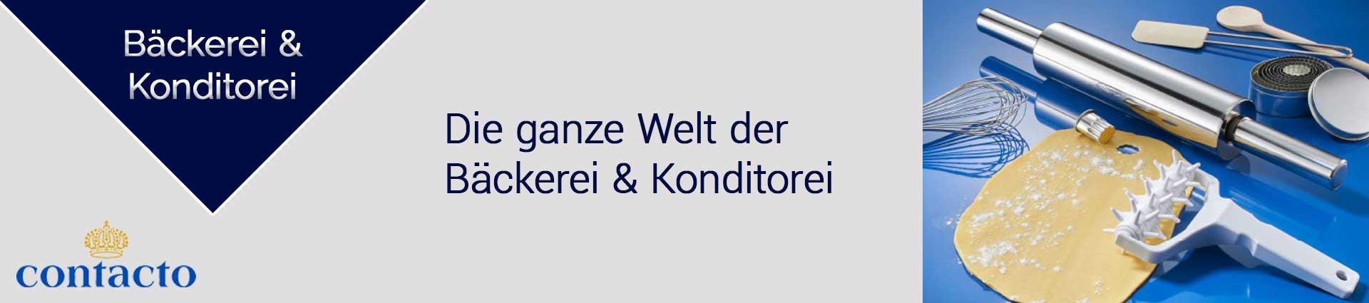 Contacto Bäckerei und Konditorei Banner