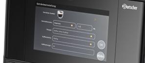 Bartscher Intuitiv Die Touch-Menüführung Image