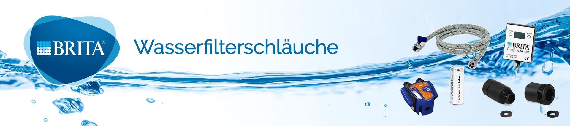 Brita Wasserfilterschläuche Banner