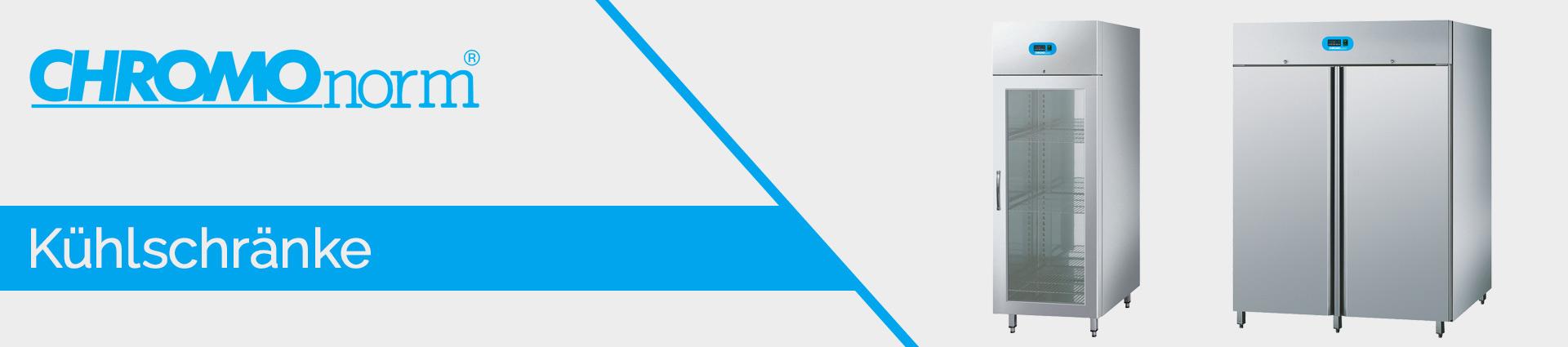 Chromonorm Kühlschränke Banner