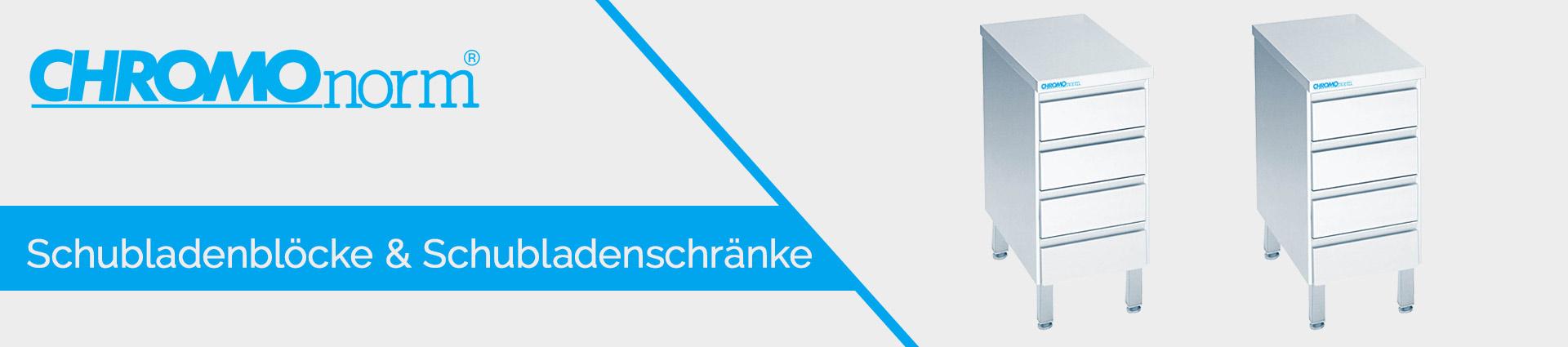 Chromonorm Schubladenblöcke & Schubladenschränke Banner