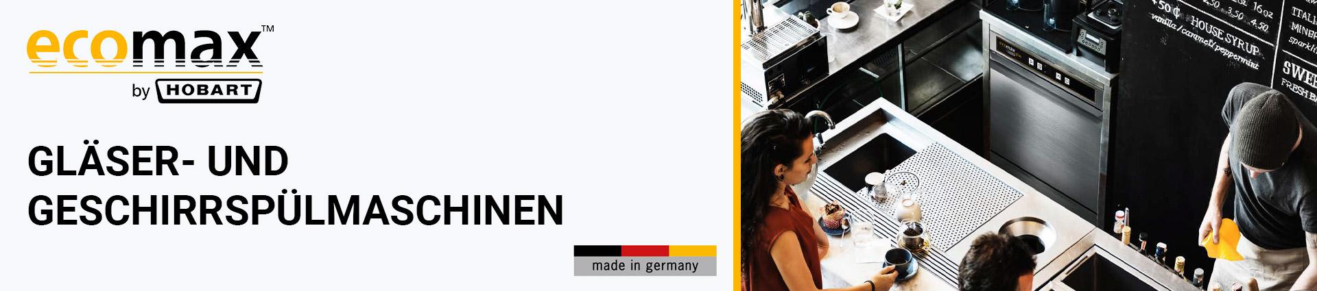 Ecomax by Hobart Spülmaschinen Banner