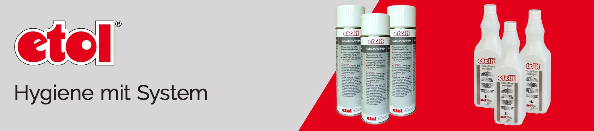 Etol Hygiene mit System Banner