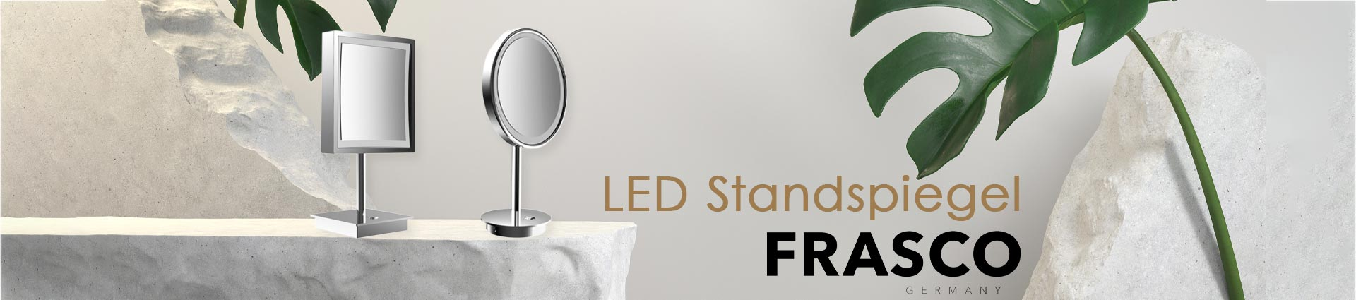 Frasco LED Standspiegel