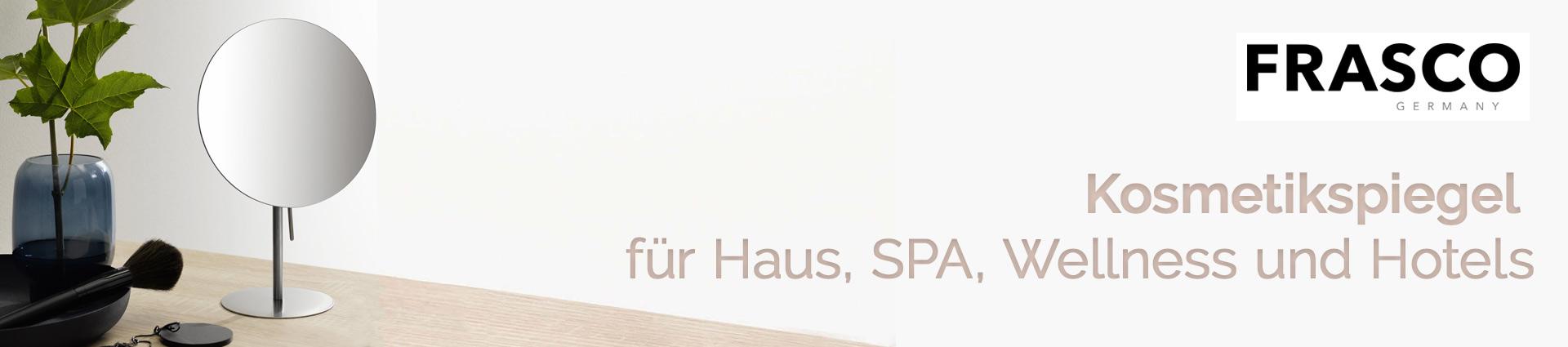 Frasco Kosmetikspiegel Banner