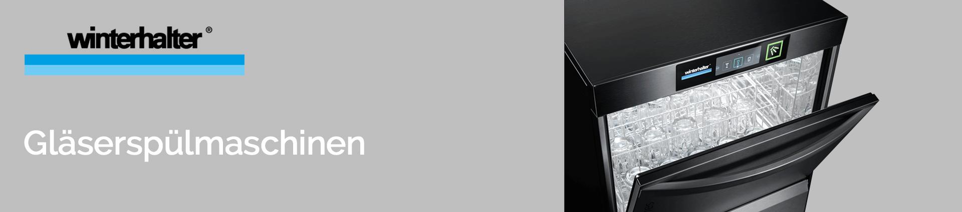 Winterhalter Gläserspülmaschinen Banner