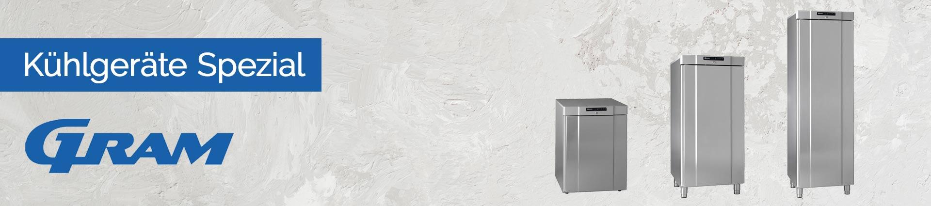 GRAM Kühlgeräte Spezial Banner