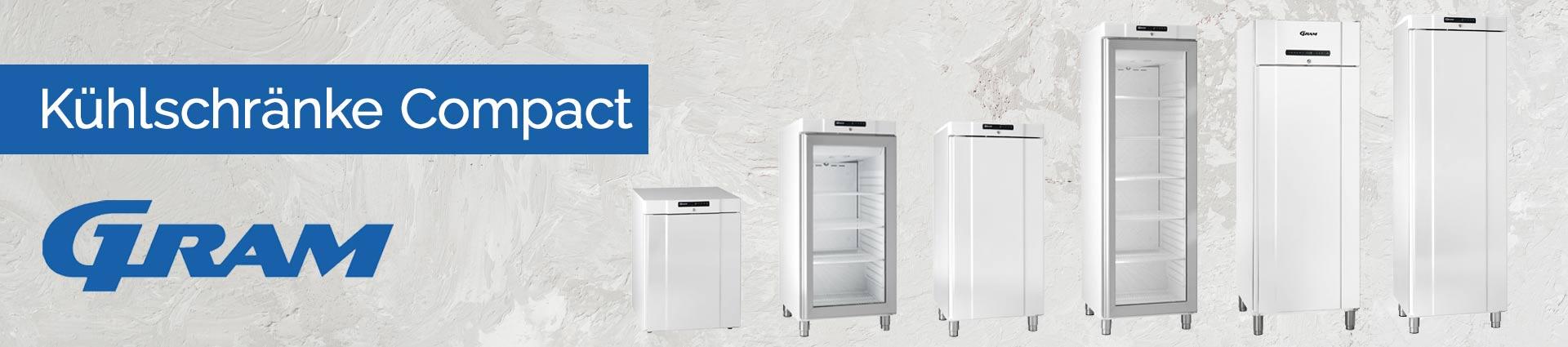 GRAM Kühlschränke Compact Banner