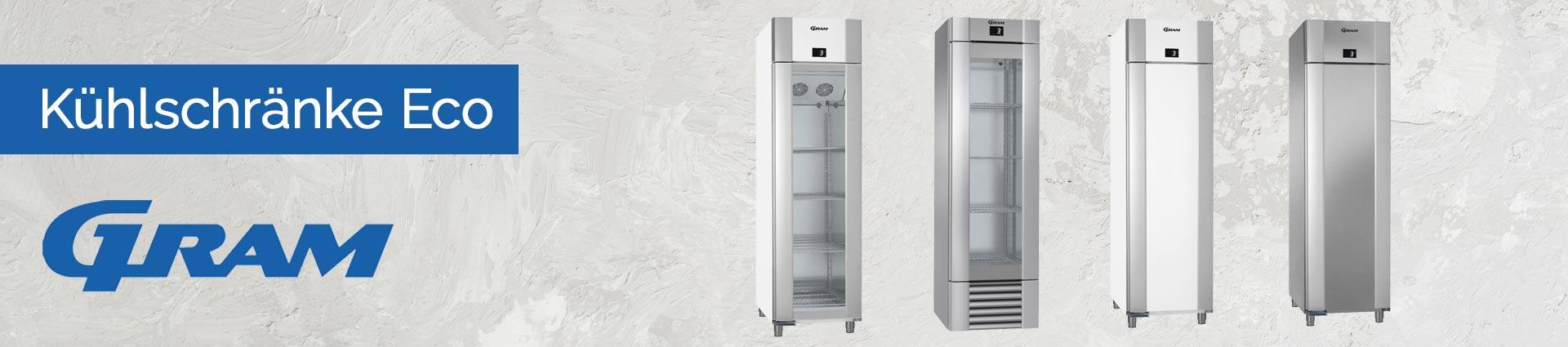 GRAM Kühlschränke Eco Banner