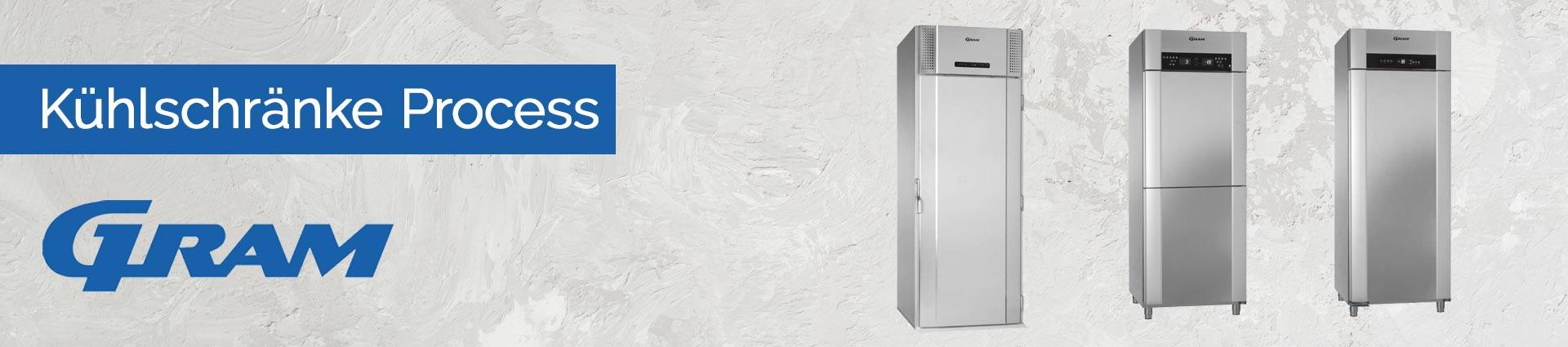 GRAM Kühlschränke Process Banner
