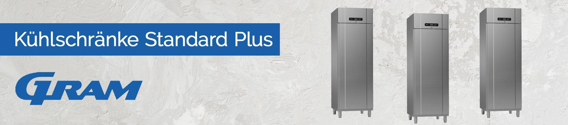 GRAM Kühlschränke Standard Plus Banner