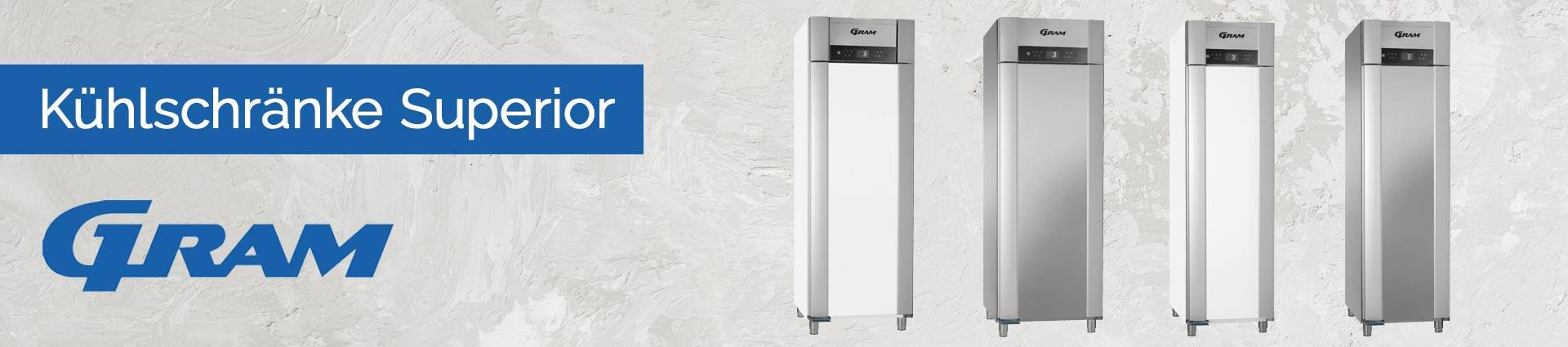 GRAM Kühlschränke Superior Banner