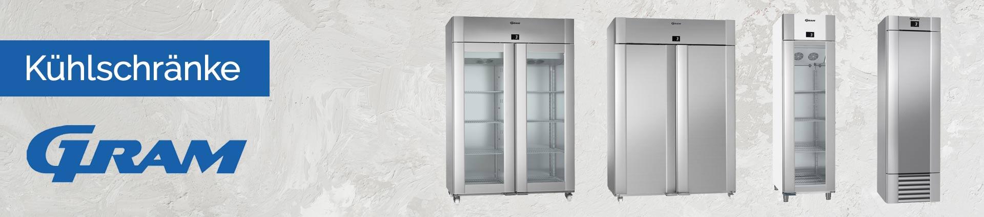 GRAM Kühlschränke Banner