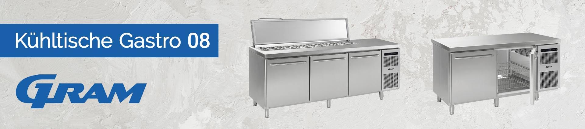 GRAM Kühltische Gastro 08 Banner