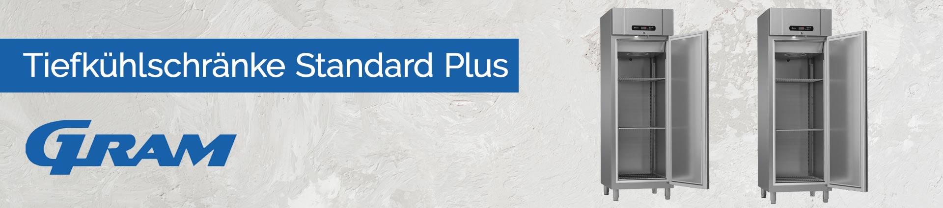 GRAM Tiefkühlschränke Standard Plus Banner