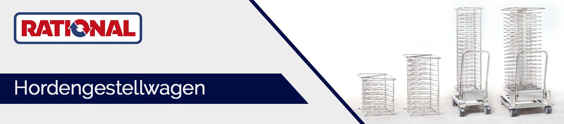Rational Hordengestellwagen Banner