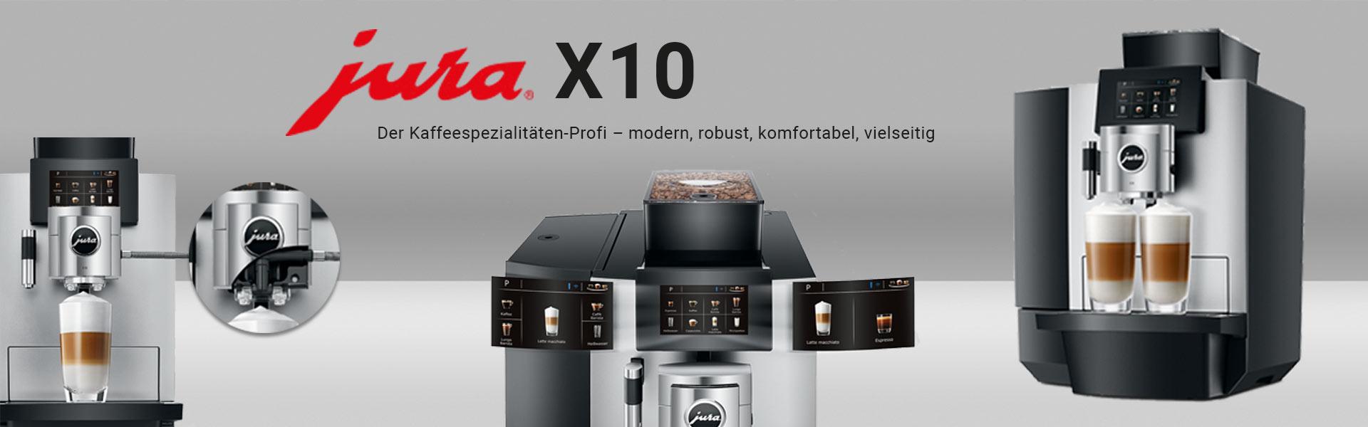 JURA X10 Banner