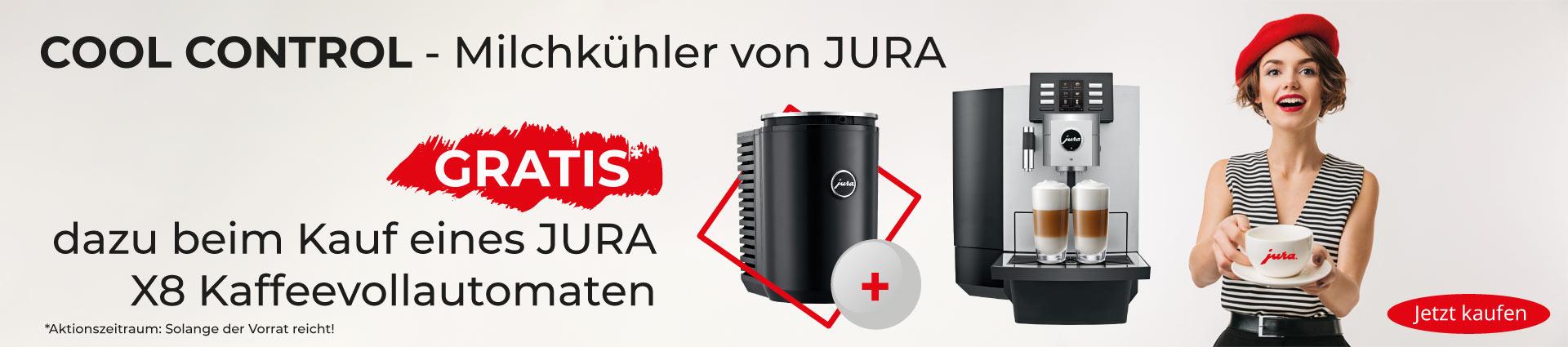 JURA X8 Banner Cool Control