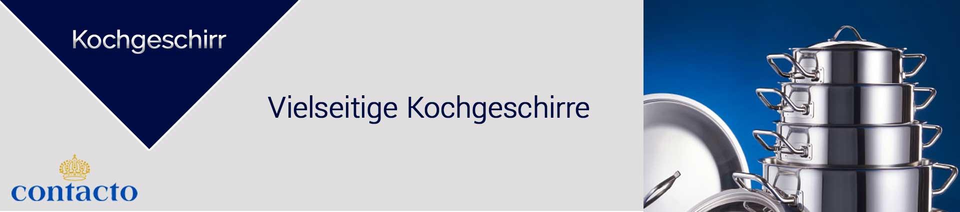 Contacto Kochgeschirr Banner