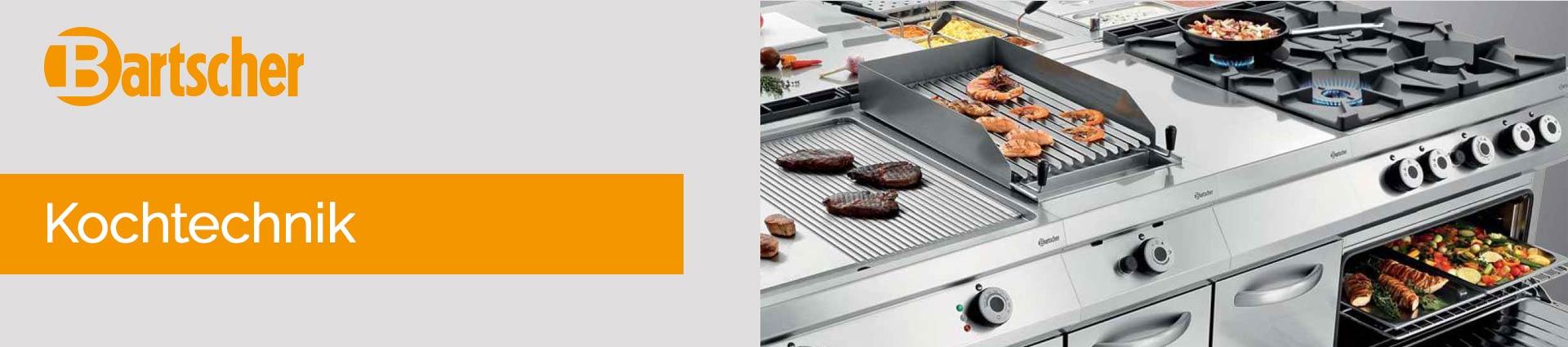 Bartscher Kochtechnik Banner