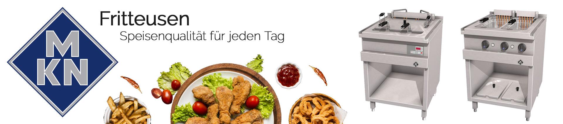 MKN Banner Fritteusen