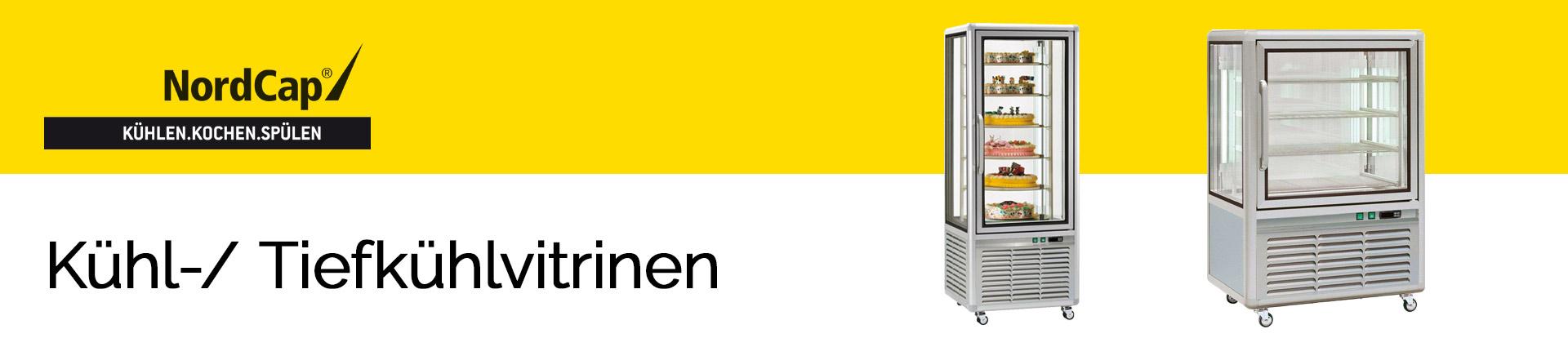 NordCap Kühl-/ Tiefkühlvitrinen Banner