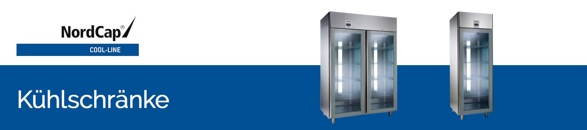 NordCap Cool-Line Kühlschränke Banner