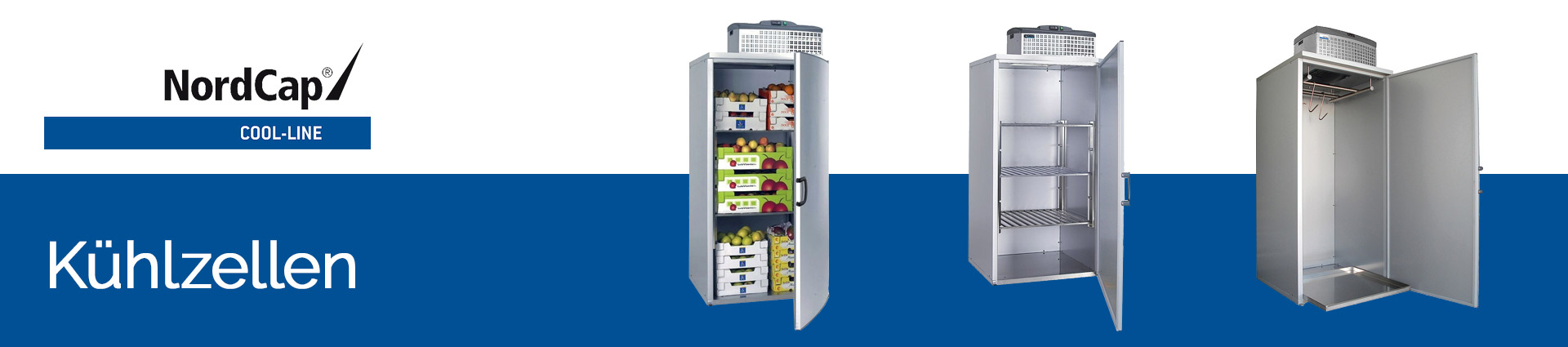 NordCap Cool-Line Kühlzellen Banner