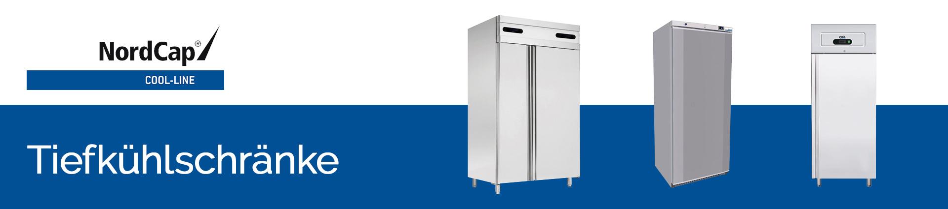 NordCap Cool-Line Tiefkühlschränke Banner