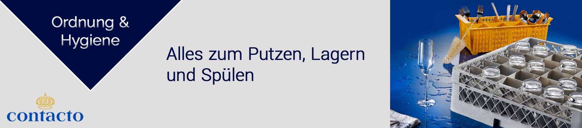 Contacto Ordnung und Hygiene Banner