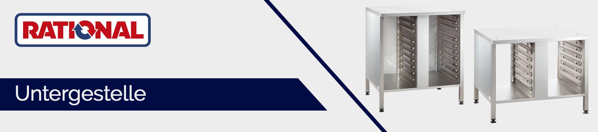 Rational Untergestelle und Unterschränke Banner