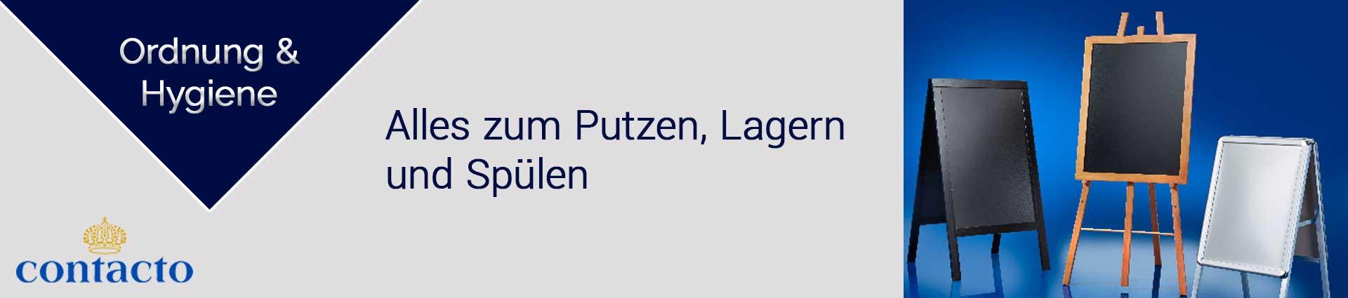 Contacto Werben und Leiten Banner