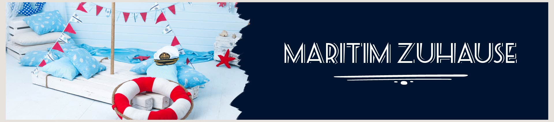 Maritim Zuhause Banner