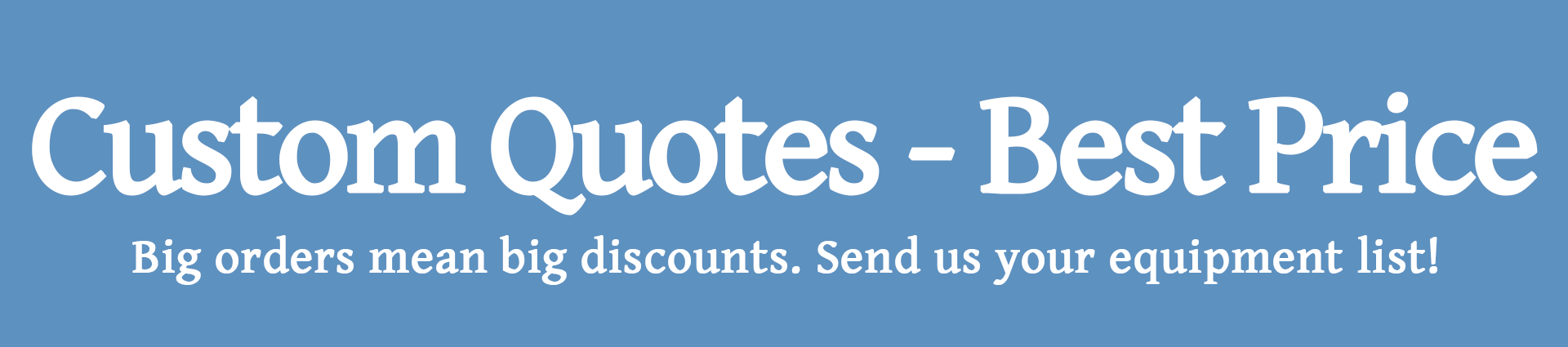 Custom Quotes Banner