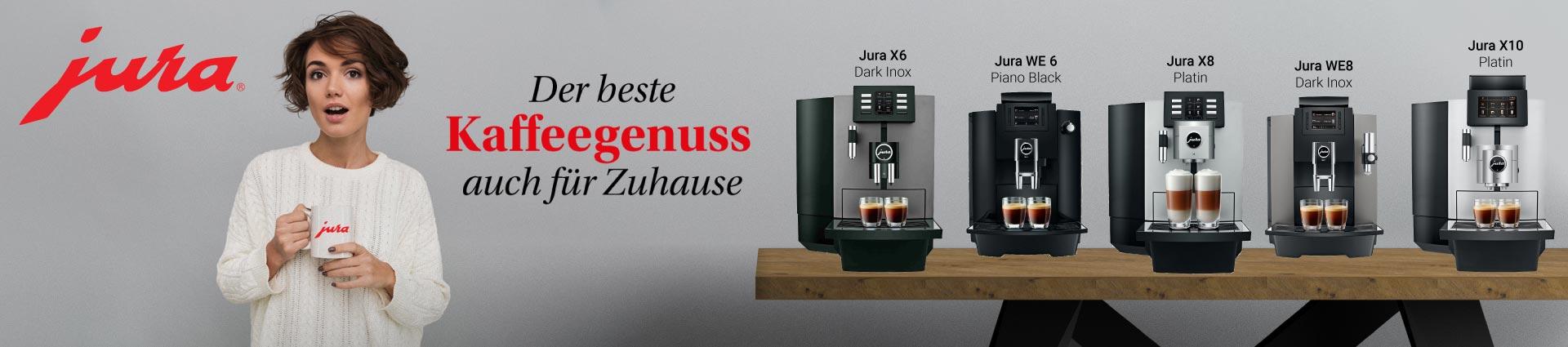 JURA - Der beste Kaffeegenuss auch für Zuhause