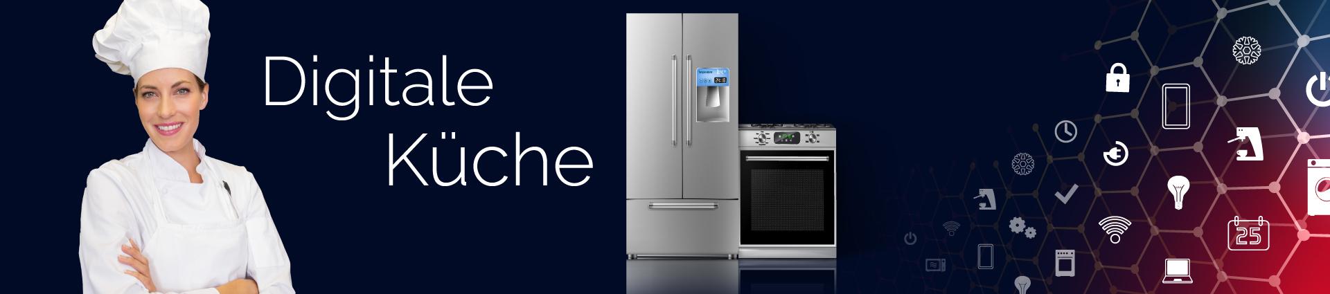 Startseite zur digitalen Küche